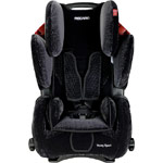 Автокресло RECARO Young Sport New Microfibre black/aquavit