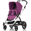 Коляска BRITAX Go White/Cool Berry