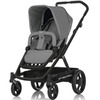 Коляска BRITAX Go Black/Charcoal Grey